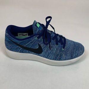 Nike Lunarepic Flyknit in super cute blue shades